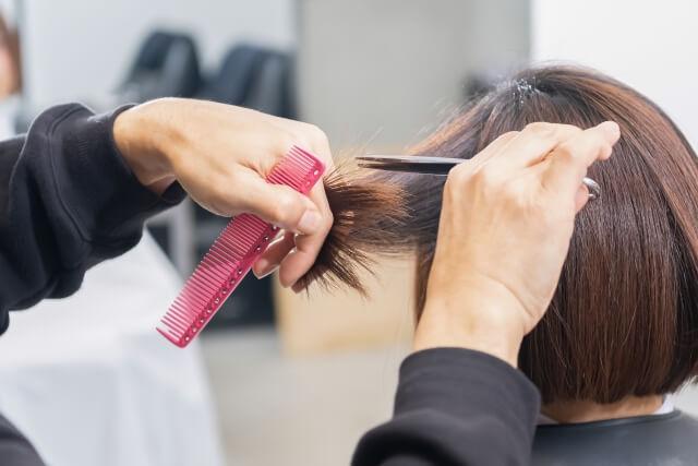 ヘアカット髪型