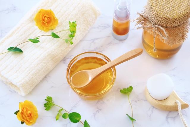 蜂蜜と美容