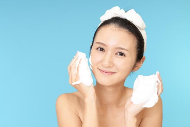 洗顔 女性